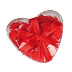 Srdiečkové konfety do kúpeľa