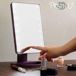 Stolné LED zrkadlo Pretty U