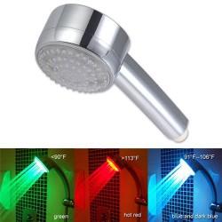 Sprchová hlavica Eko s LED svetlom