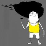 Tričko Afro Rain