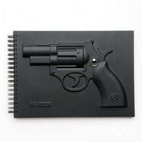 Vojenský notes Pištoľ