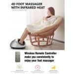 Masážny prístroj na nohy 4D infra Jade Shiatsu