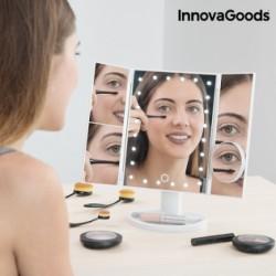 Zväčšujúce kozmetické zrkadlo 4 v 1