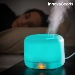 Zvlhčovač vzduchu s LED a arómadifuzérom